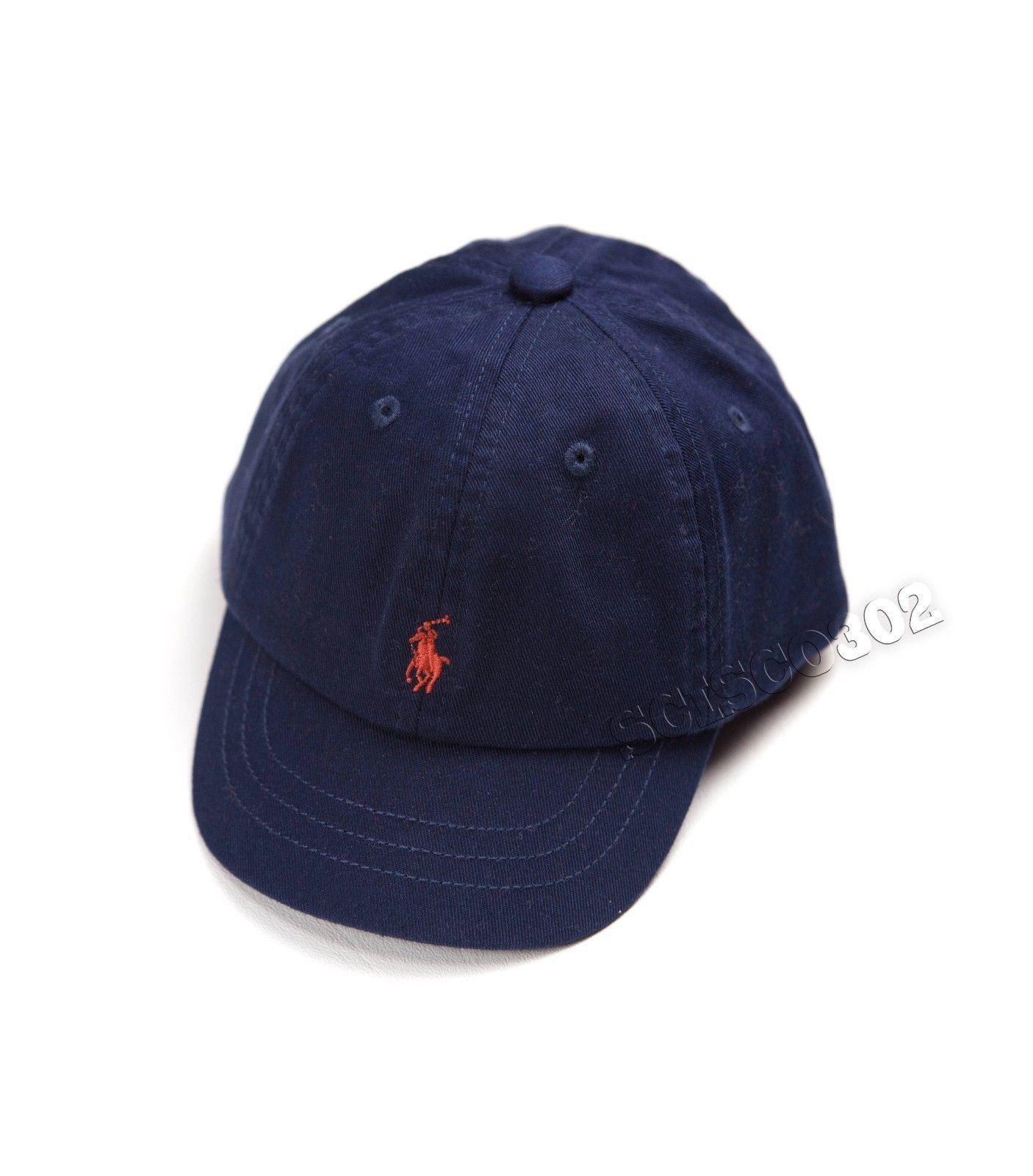 Baby Boy s Ralph Lauren Baseball Cap Hat  885e3cc1997
