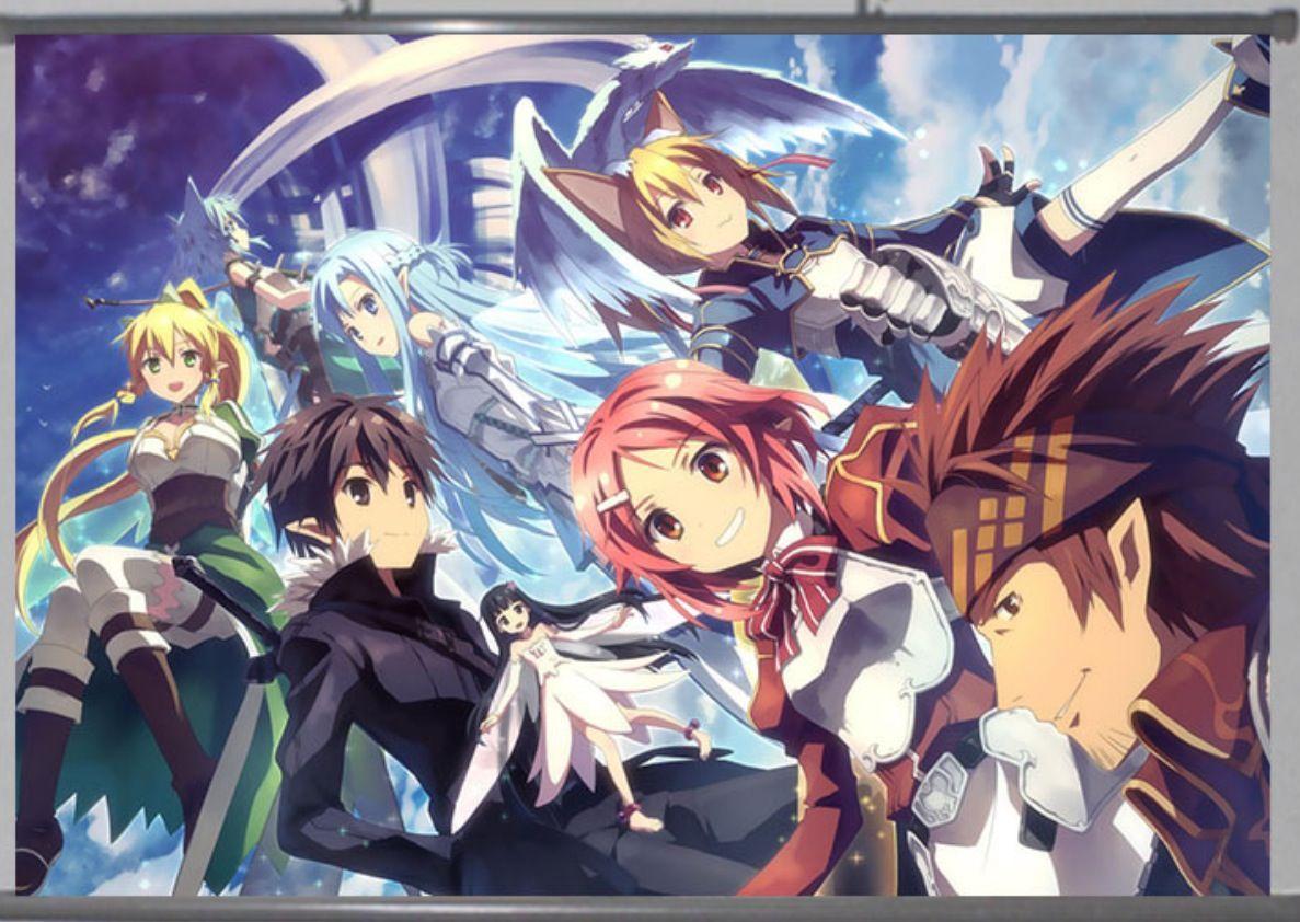 Anime wall scroll anime goods pinterest
