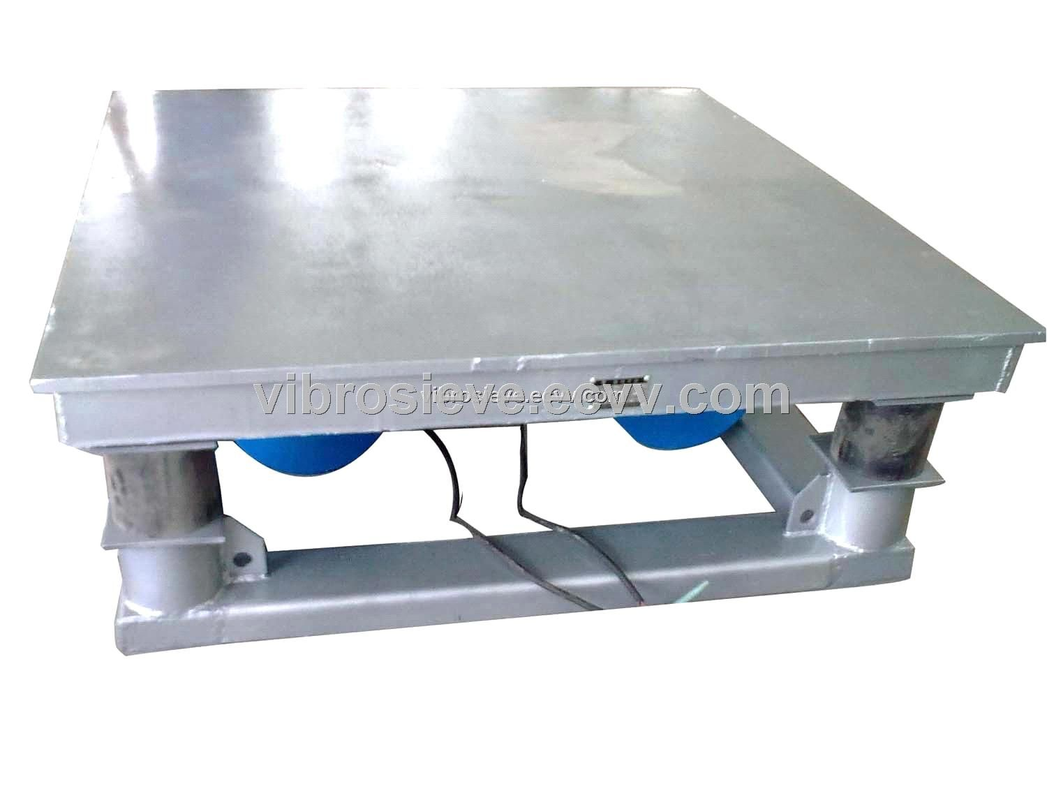 Vibrator for Concrete (ZP vibrating table) - China Concrete Equipment;vibrator for concrete;Concrete Vibrator, Forever Vibrating