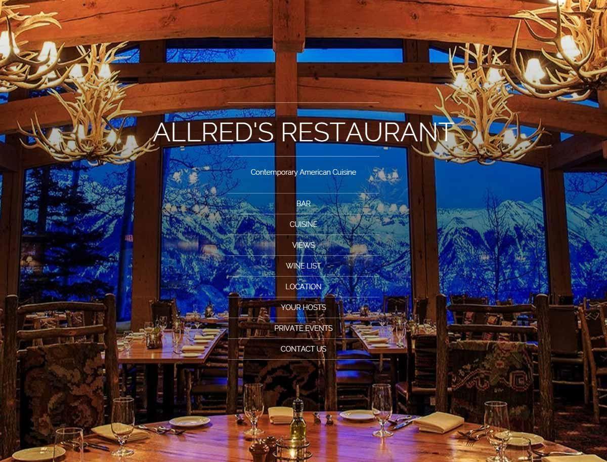 Allred S Restaurant Telluride Colorado