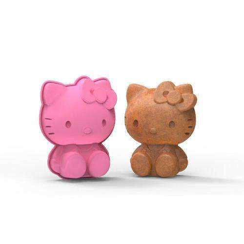 pink Hello Kitty silicone mini cake pan cake mold Hello Kitty