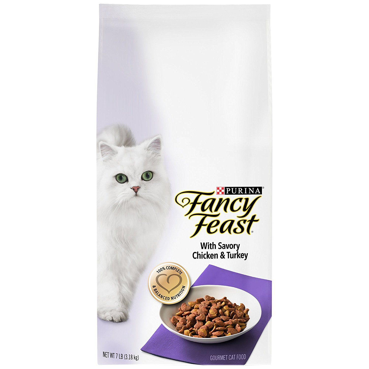 Fancy Feast Gourmet Gold Savory Chicken and Turkey Dry Cat