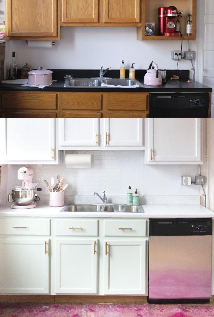 Budget Friendly Kitchen Update | Updated kitchen, Kitchen ...