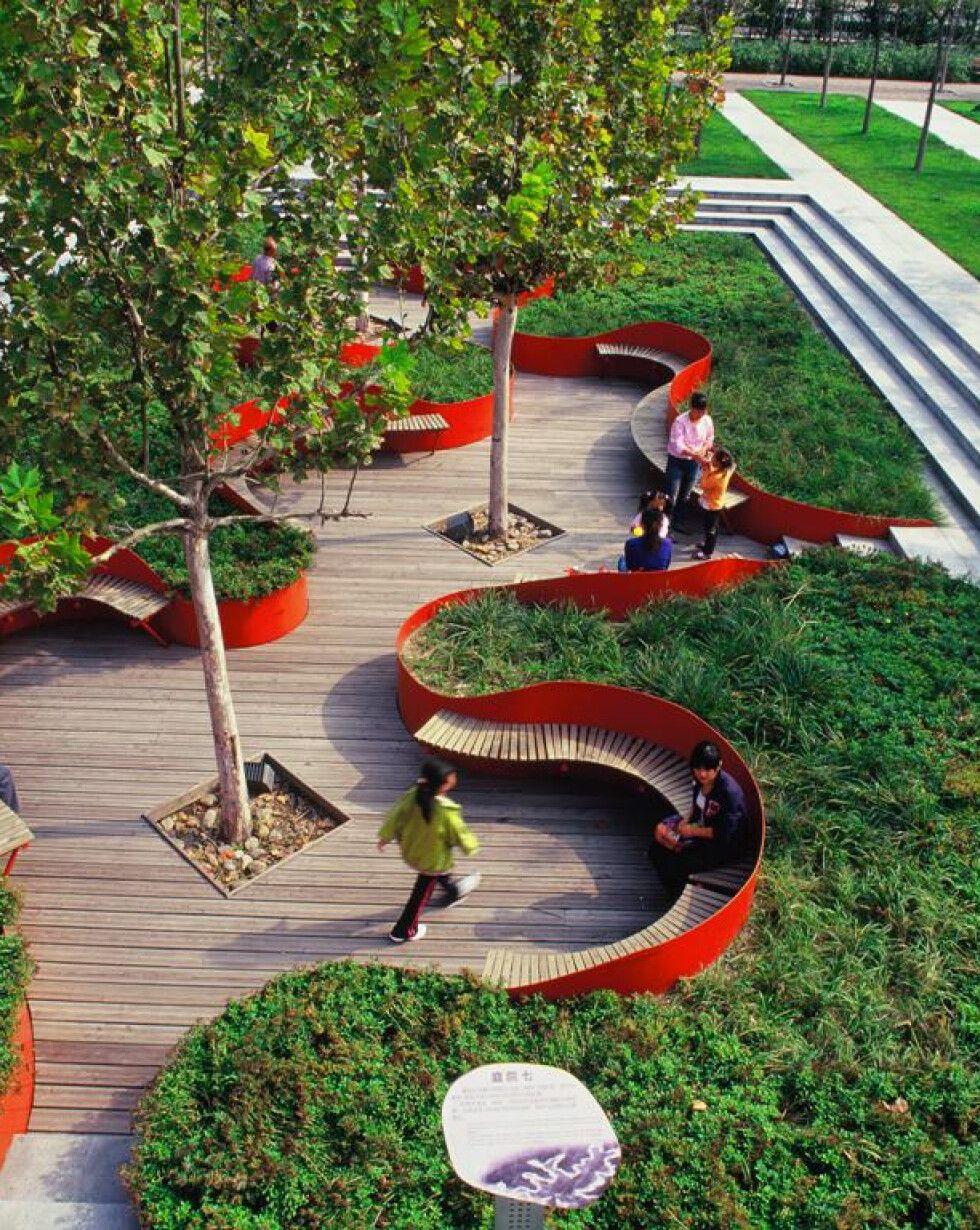 Link The City To Nature Turenscape Design Institute Archello Nature Garden Design Garden City Michigan Garden City