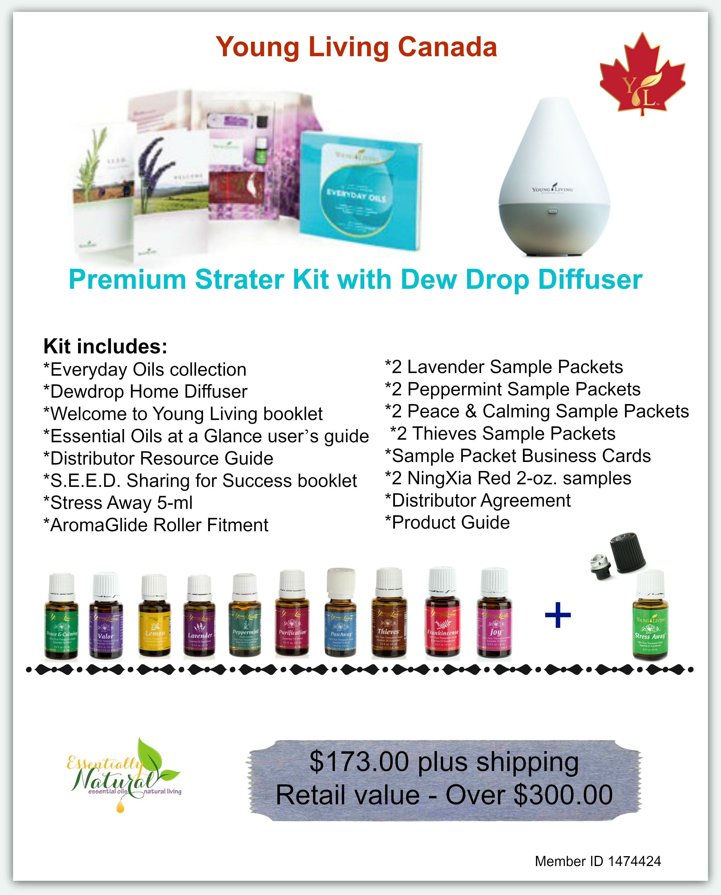 Starting December 1 2014 The Young Living Premium Starter Kit And Basic Plus