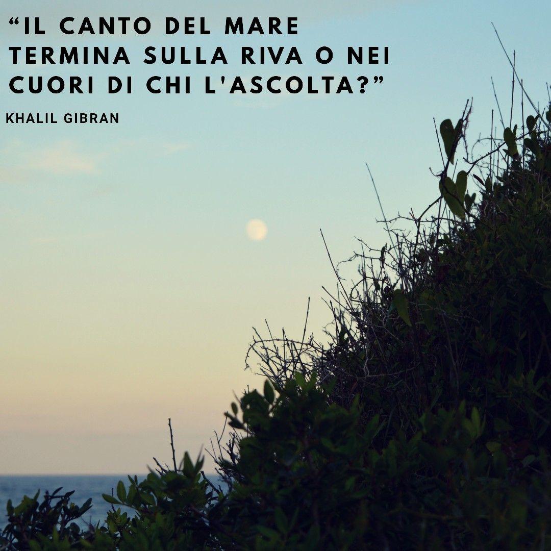 Il Canto Del Mare Termina Sulla Riva O Nei Cuori Di Chi L