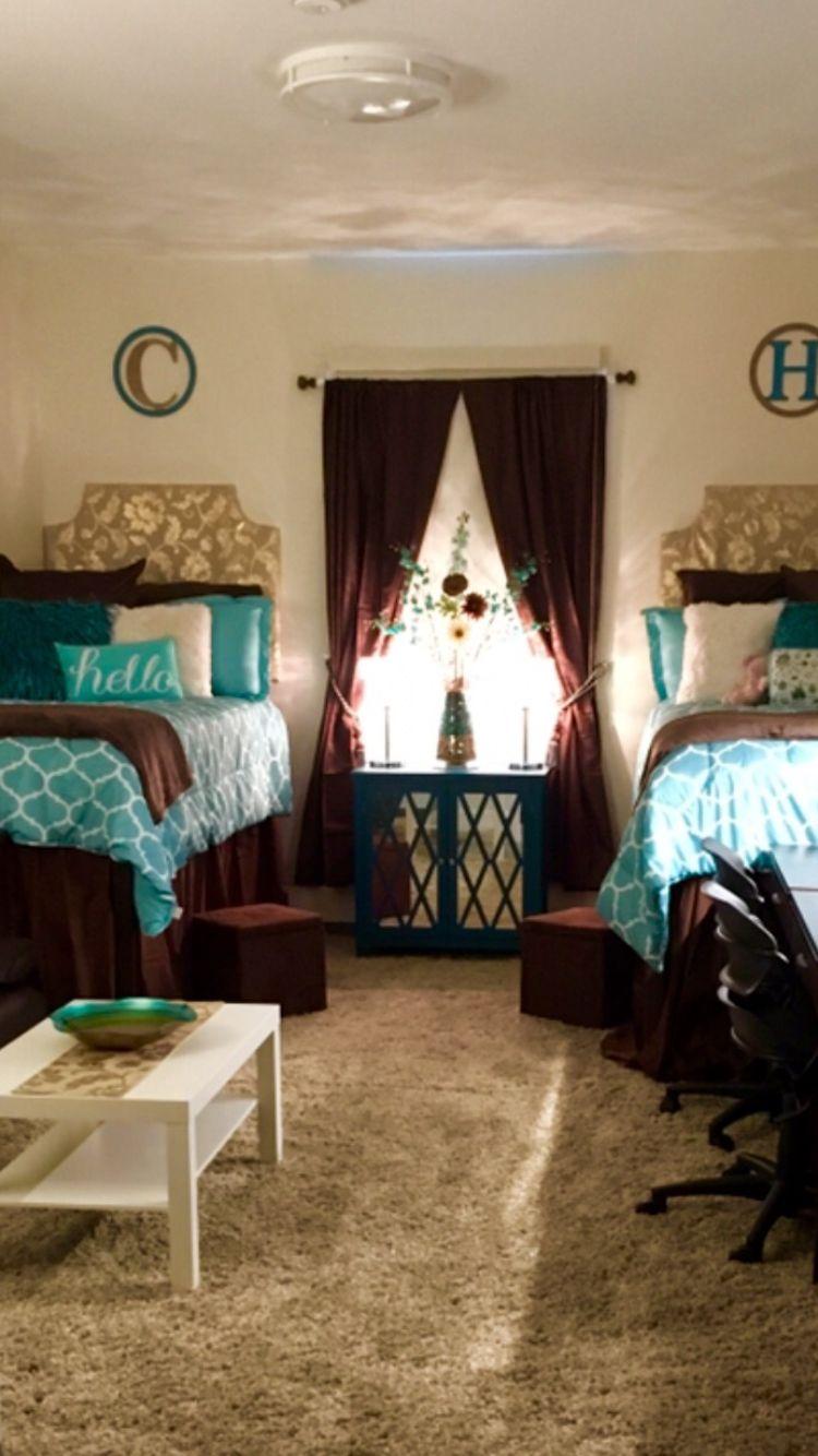 Ole Miss Dorm Room Minor Hall Teal Dorm Room Ole Miss Dorm Rooms Girls Dorm Room