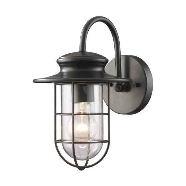 Elk lighting 42284 1 portside outdoor wall light elk lighting outdoor walls and nautical lighting