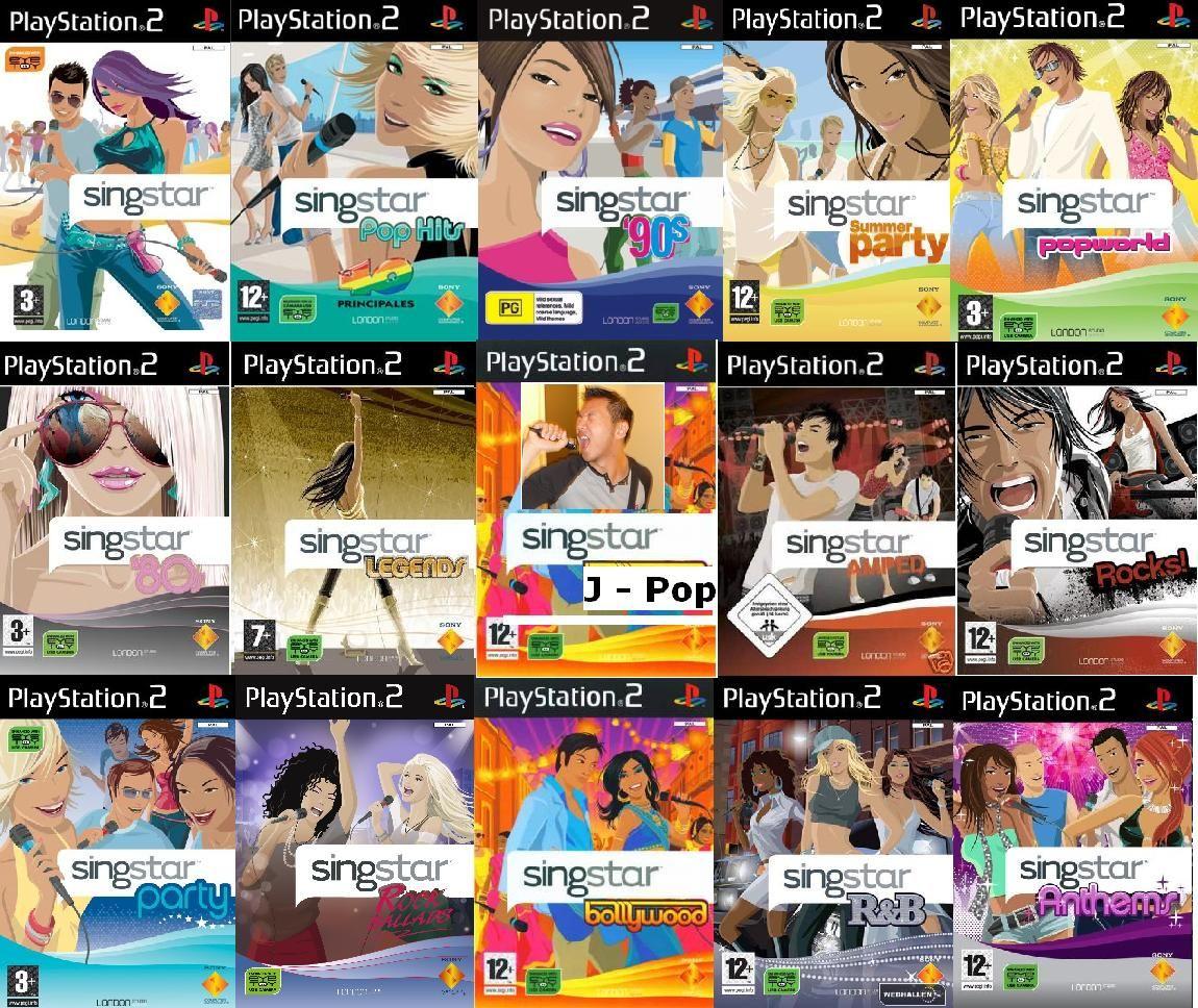 PS2 Singstar... Game gadgets, Karaoke, Jpop