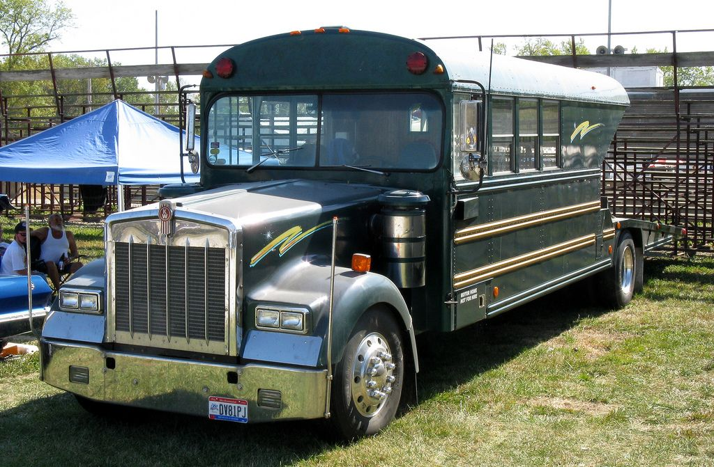 Kenworth School Bus/Hauler. heavyhauling School bus
