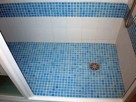 Decorar cuartos de baño con gresite | gresite | Pinterest