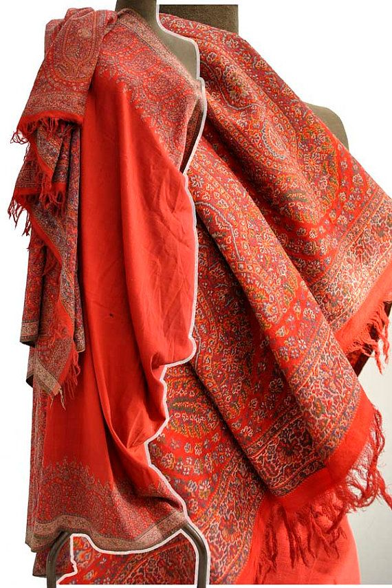 Victorian Paisley shawl | Antique Kashmir and Paisley ...