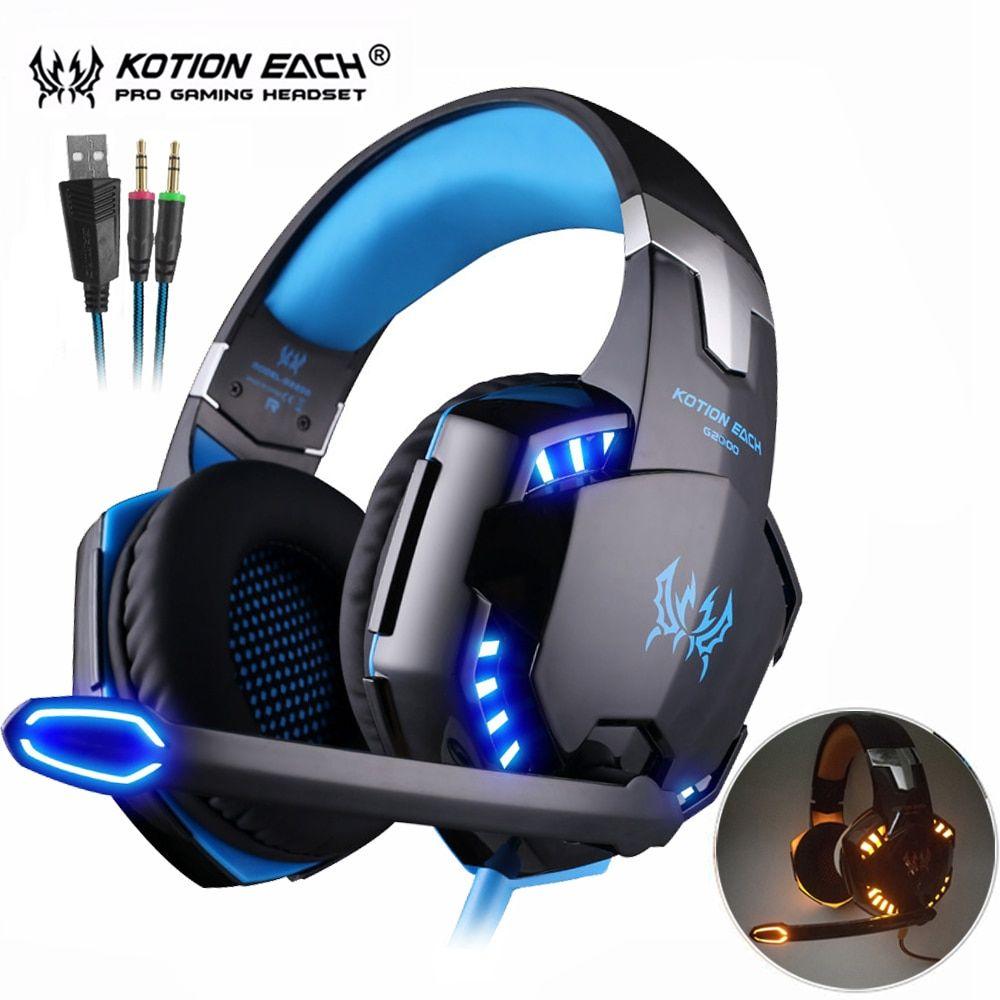 Computer gaming headphones best stereo casque casque
