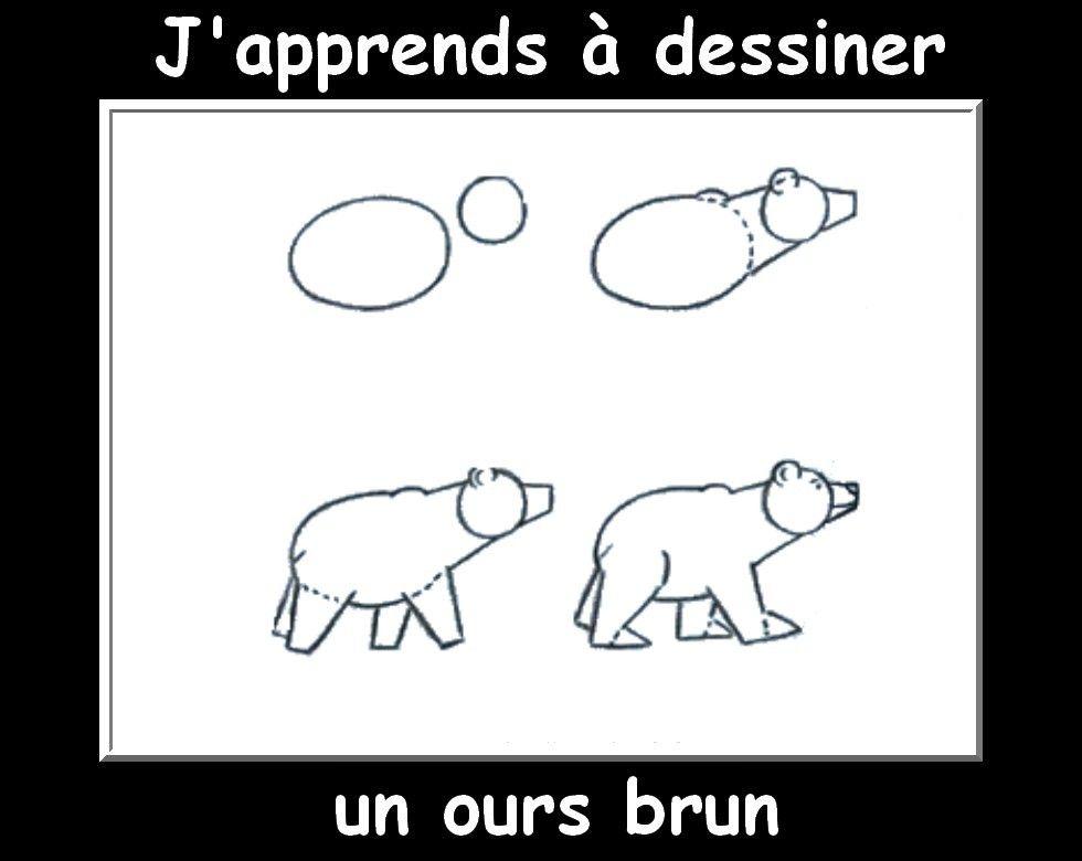 Des fiches j 39 apprends dessiner les animaux apprendre - Apprendre a dessiner des animaux mignon ...