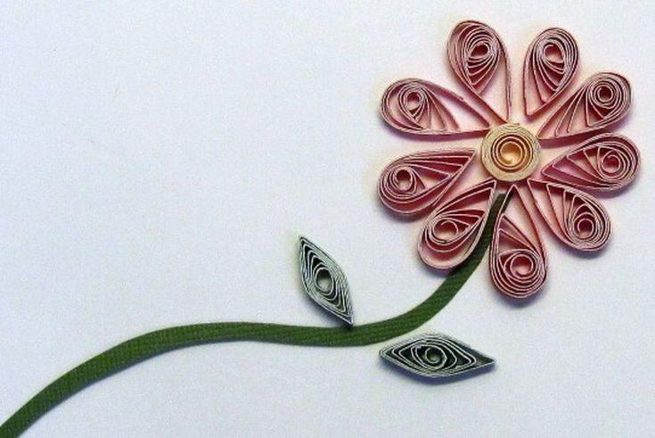 Diy flat paper flowers for crafting view pinterest quilling diy flat paper flowers for crafting mightylinksfo