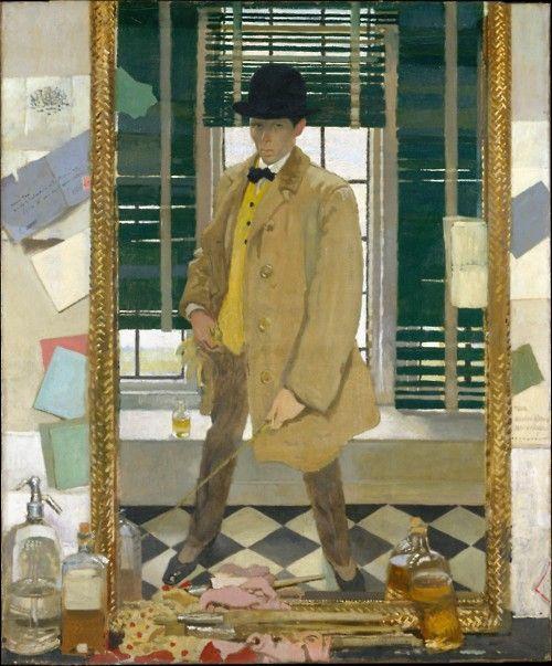 William Orpen:  Self-Portrait (c.1910)