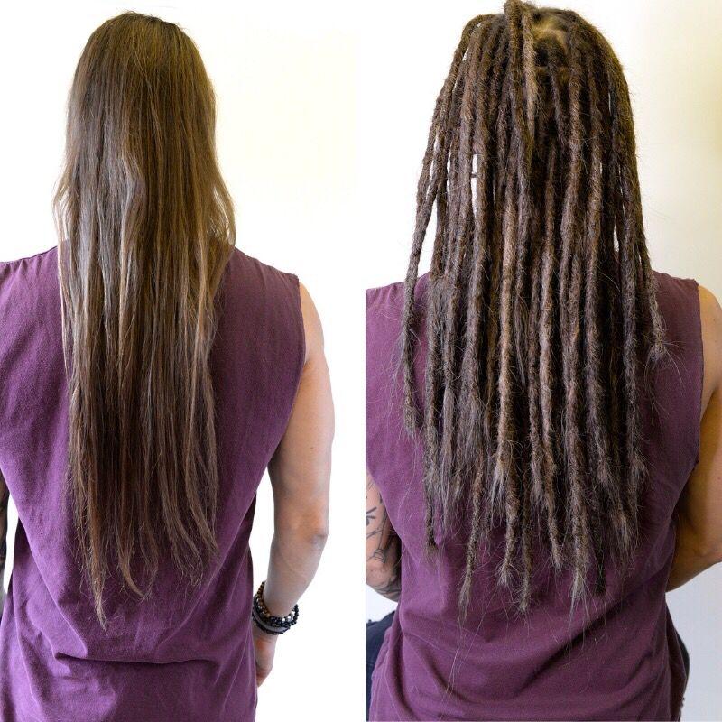 Dreadlocks Long Straight Hair Straight Hairstyles Dreadlocks
