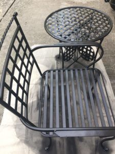 Easy And Cheap Diy Patio Furniture Update Using Spray Paint Diy