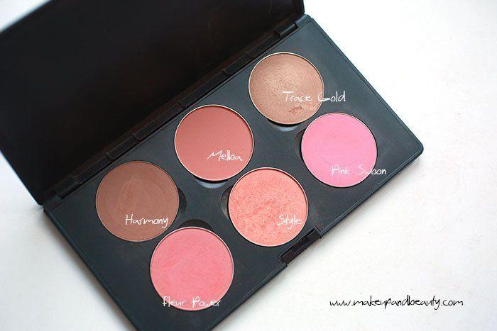 mac blush palette medium skin tone
