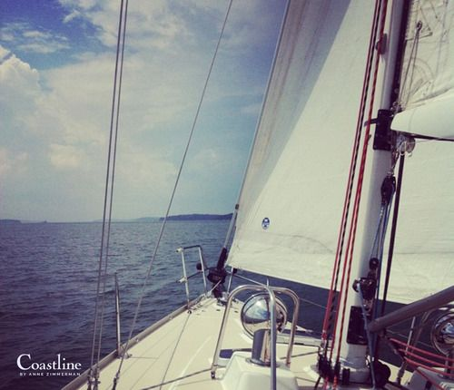 Sail the Maine Coast #coastlinebyannezimmerman #mainecoast