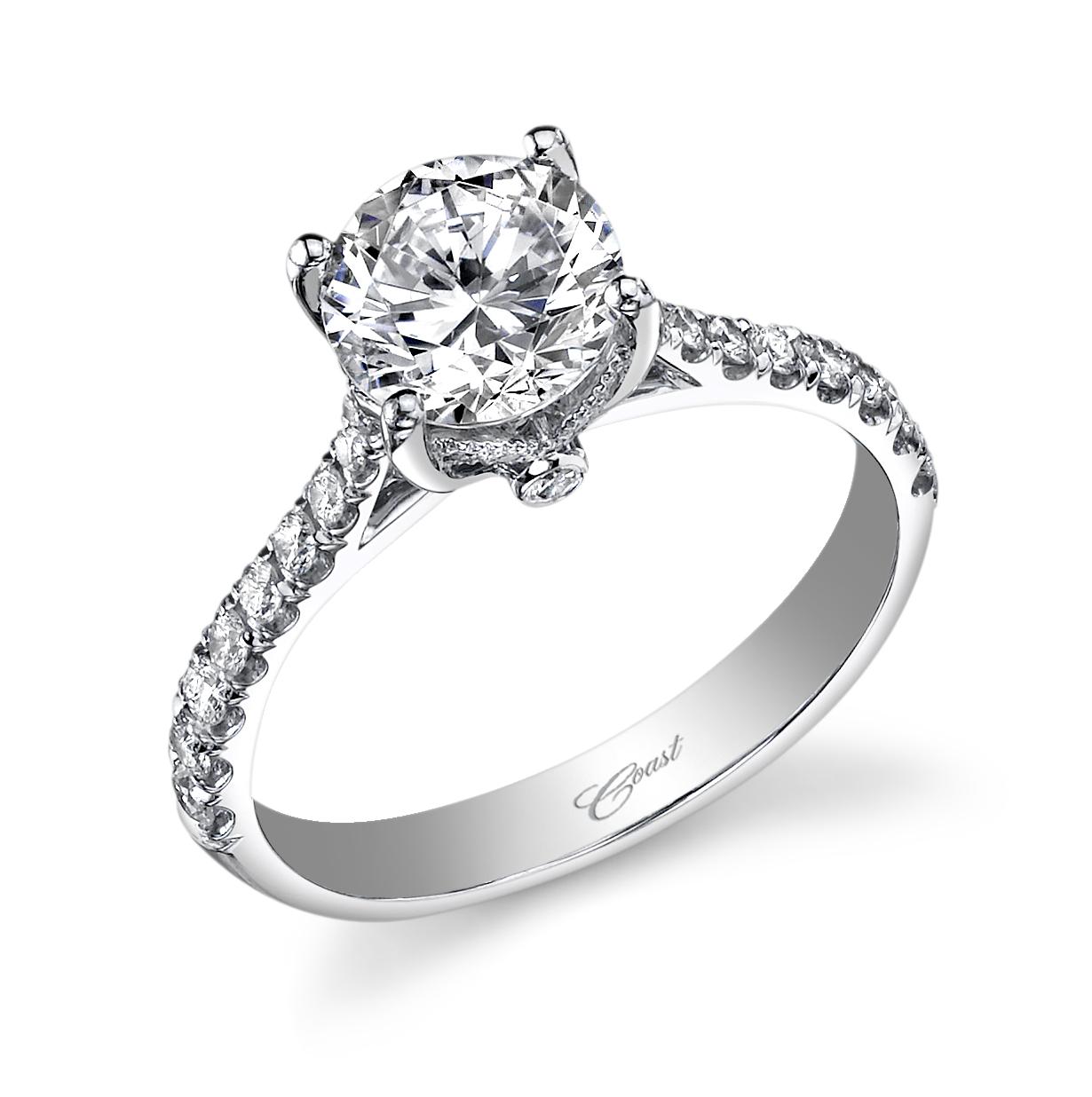Coast Diamond Ring Designer engagement rings, Engagement