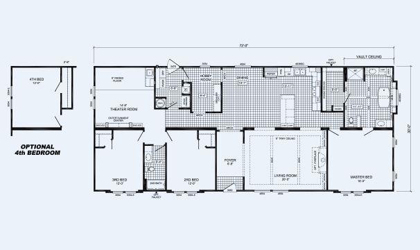 659 The Lloyd Floor Plans Theater Plan Building A House