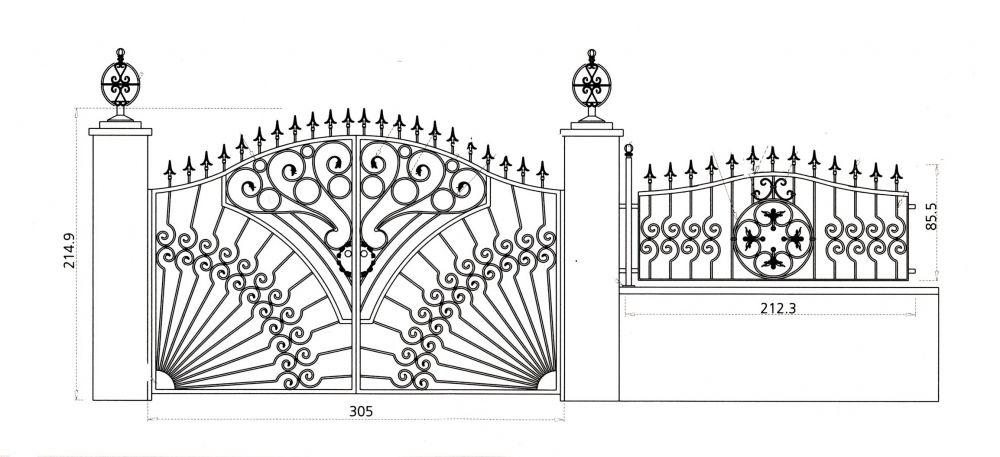 dessin portail fer forg recherche google portail home decor metal gates et gate