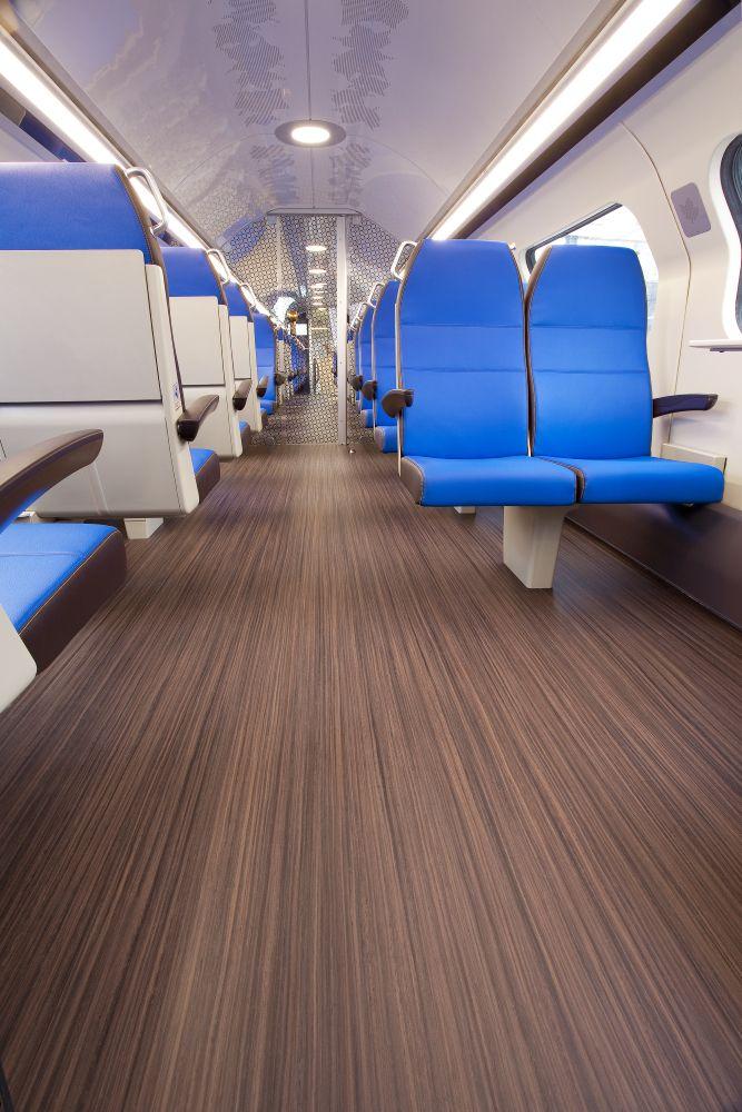 Marmoleum Striato FR Nederlandse Spoorwegen trains