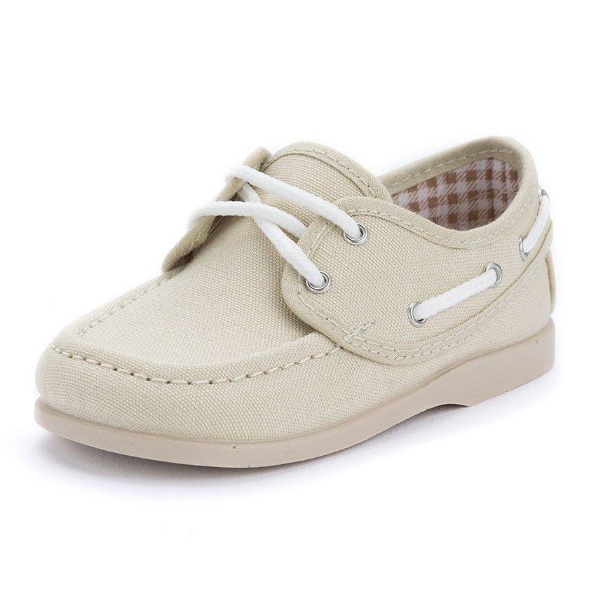 980fcbf38 Náuticos Tela Cordones Niño. Zapatos baratos de calidad ...