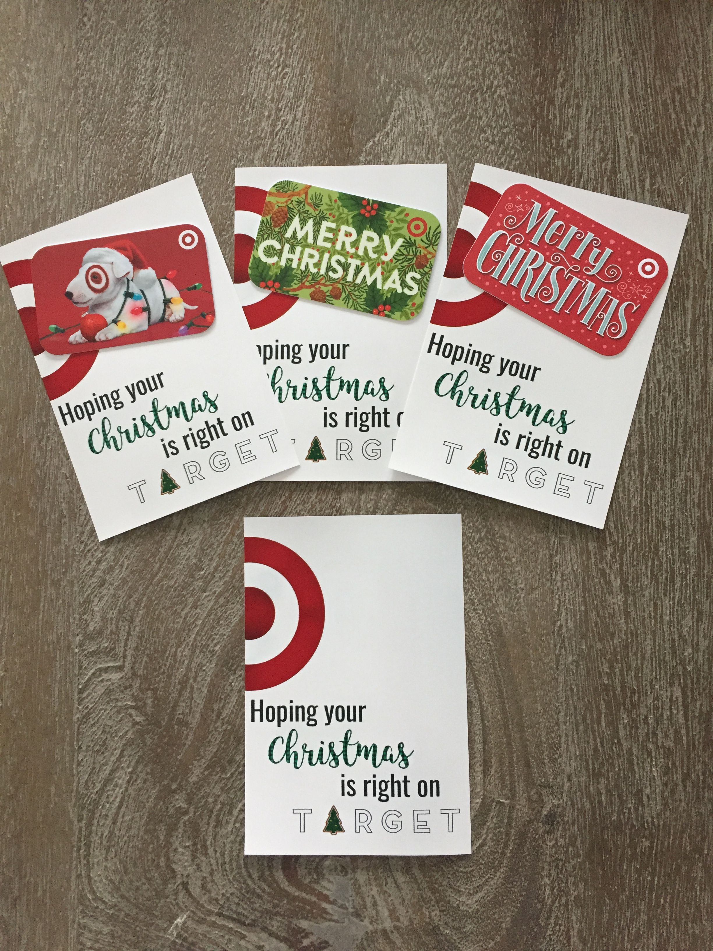 Christmas Target Gift Card Holder: Hoping your Christmas ...