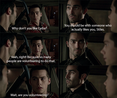 """""""I'm just going to call Lydia very quick."""" """"You have got kidding me."""""""