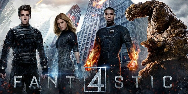 fantastic four 2015 trailers Fantastic Four Posters: A New ...