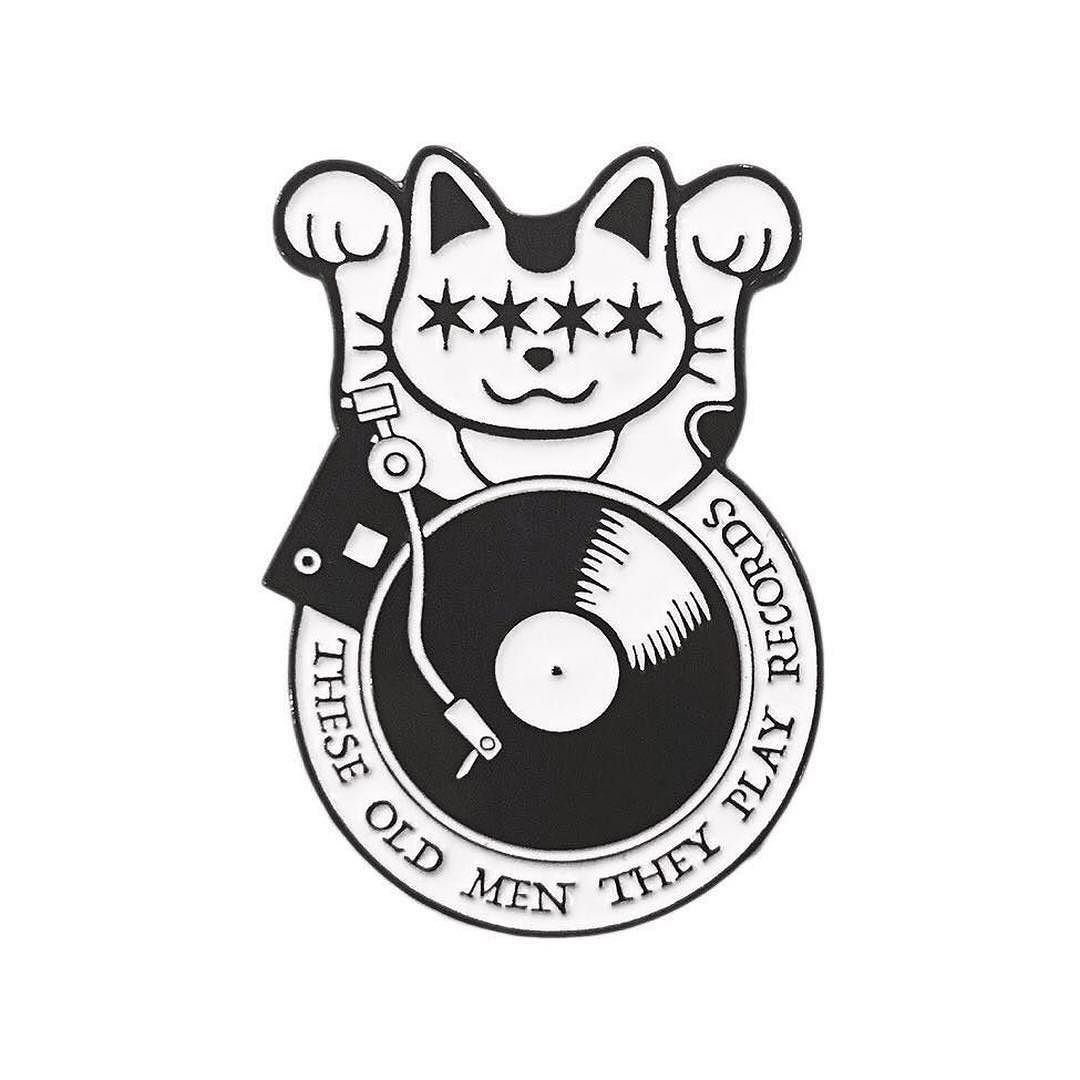 #Repost @tomtpr  #LuckyCatAttack is now online! Snatch this #theseoldmentheplayrecords pin up and know that half of the proceeds goto @treehousecats  theseoldmentheyplayrecords.bigcartel.com (link in bio ) #treehousehumanesociety #cats #catpin #pin #doubleclutch #tomtpr #vinylworship    (Posted by https://bbllowwnn.com/) Tap the photo for purchase info.  Follow @bbllowwnn on Instagram for great pins patches and more!