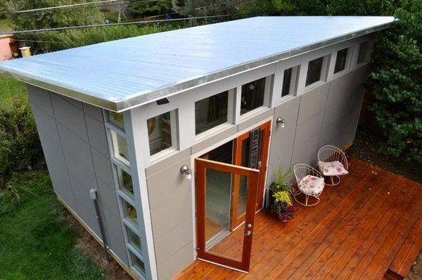 modern shed ideas garden shed design ideas wooden deck outdoor lighting