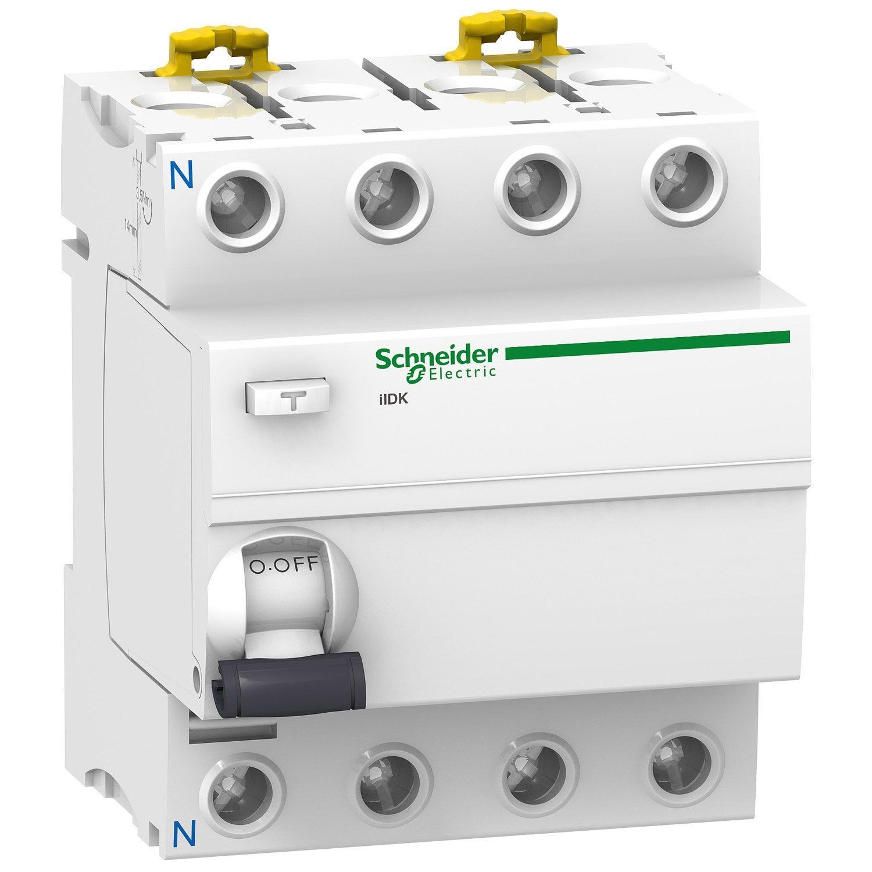 Interrupteur Différentiel Schneider Electric 30 Ma 40 A