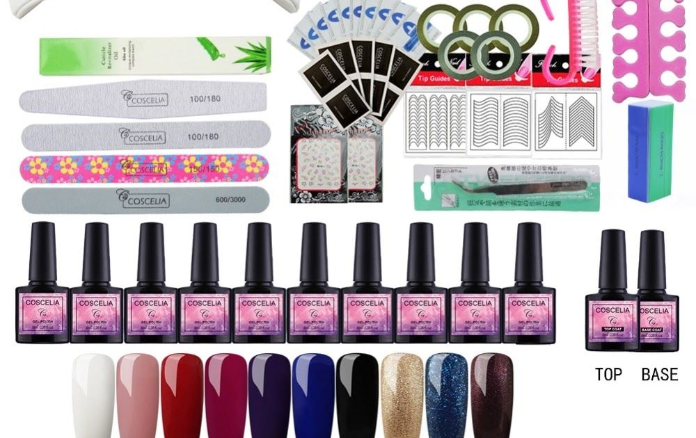 Cheap Price Nail Set Gel Nail 36w Uv Lamp Dryer Manicure Set 10pcs Nail Gel Polish Soak Off Manicure Gel Polish Kit Gel Nail Kit Gel Manicure Nail Polish Kits