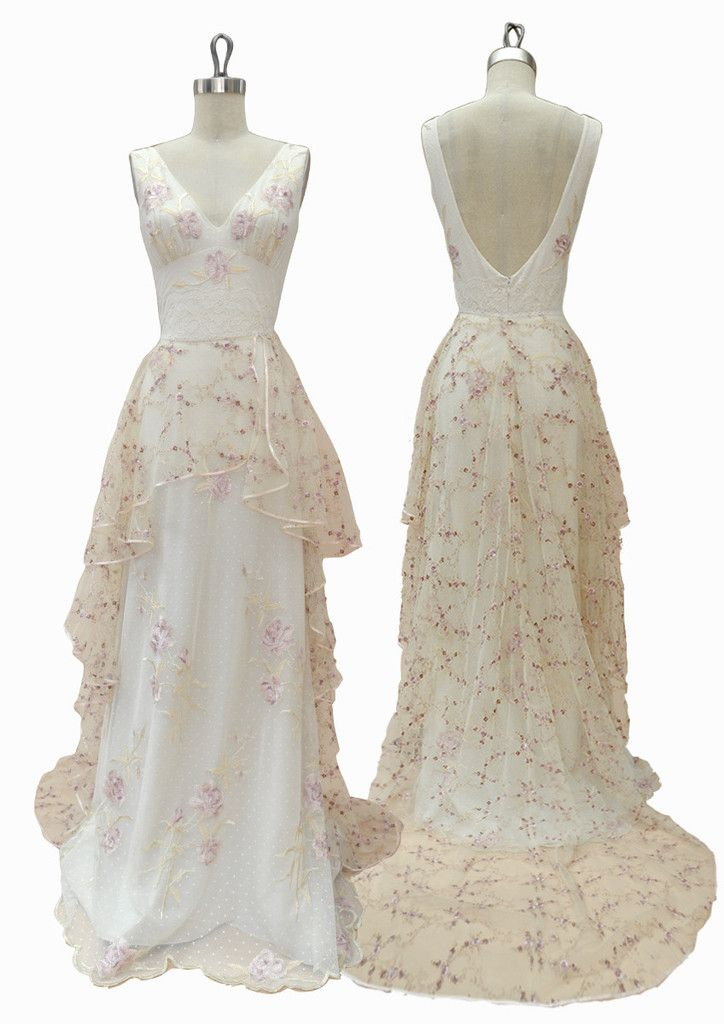Pin de Claire Pettibone en SAMPLE SALE Wedding Dresses ...