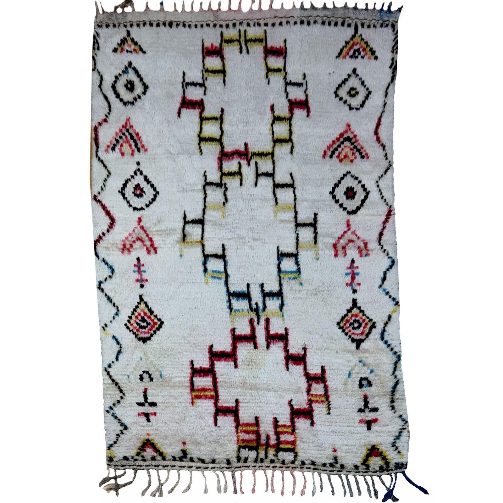 14972 Azilal Vintage 170 X 100 Cm Berber Teppich Marokko Sammlerteppich Berber Teppich Berber Teppich
