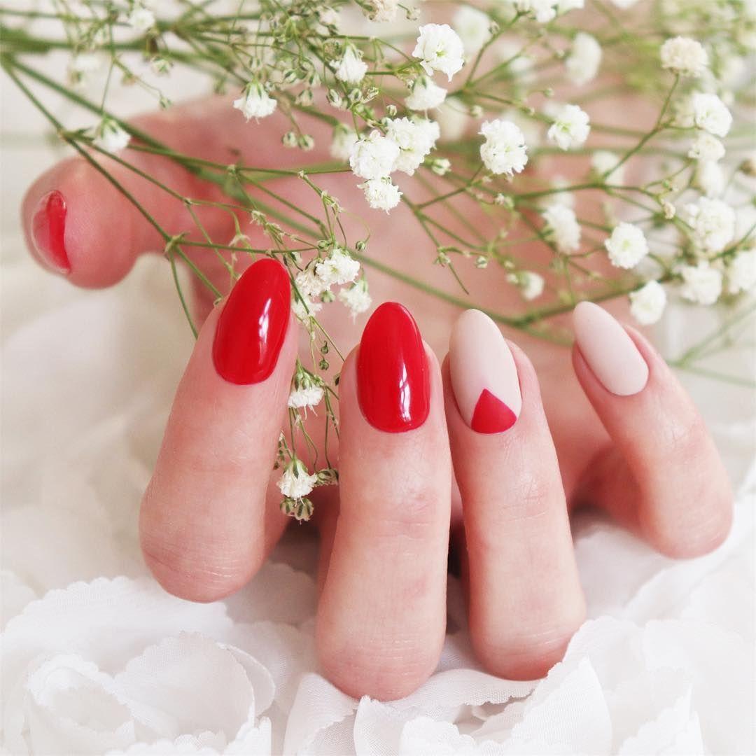 52 Best Lady In Red Czerwone Paznokcie Neonail Images