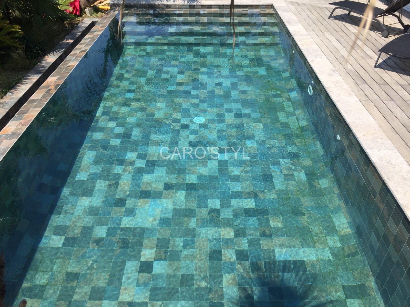 Piscine En Carrelage Green Bali 15x15 Cm Un Denuancage Magnifique Pour Une Eau Emeraude Magasin De Carrelage Pier Piscine Carrelage Piscine Piscine Verte