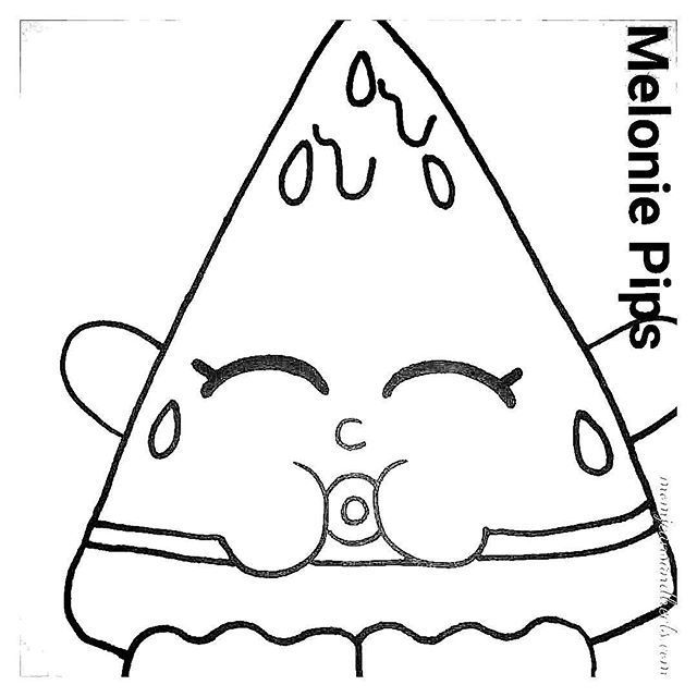 Shopkins Coloring Pages Animals