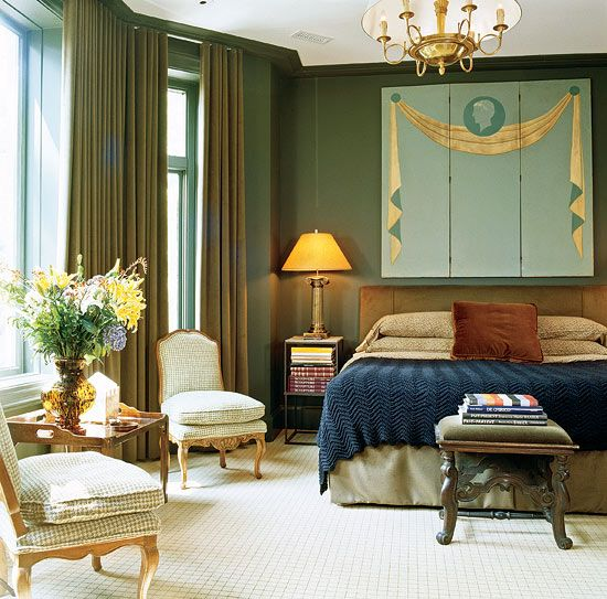 Beautiful Bedroom Sitting Areas: Traditional Bedrooms For Every Decorating Taste