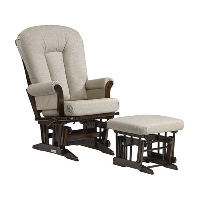 Rocking Chairs · Dutailier C20 81B 62 5286 Multi Position Reclining Sleigh  Glider With Ottoman