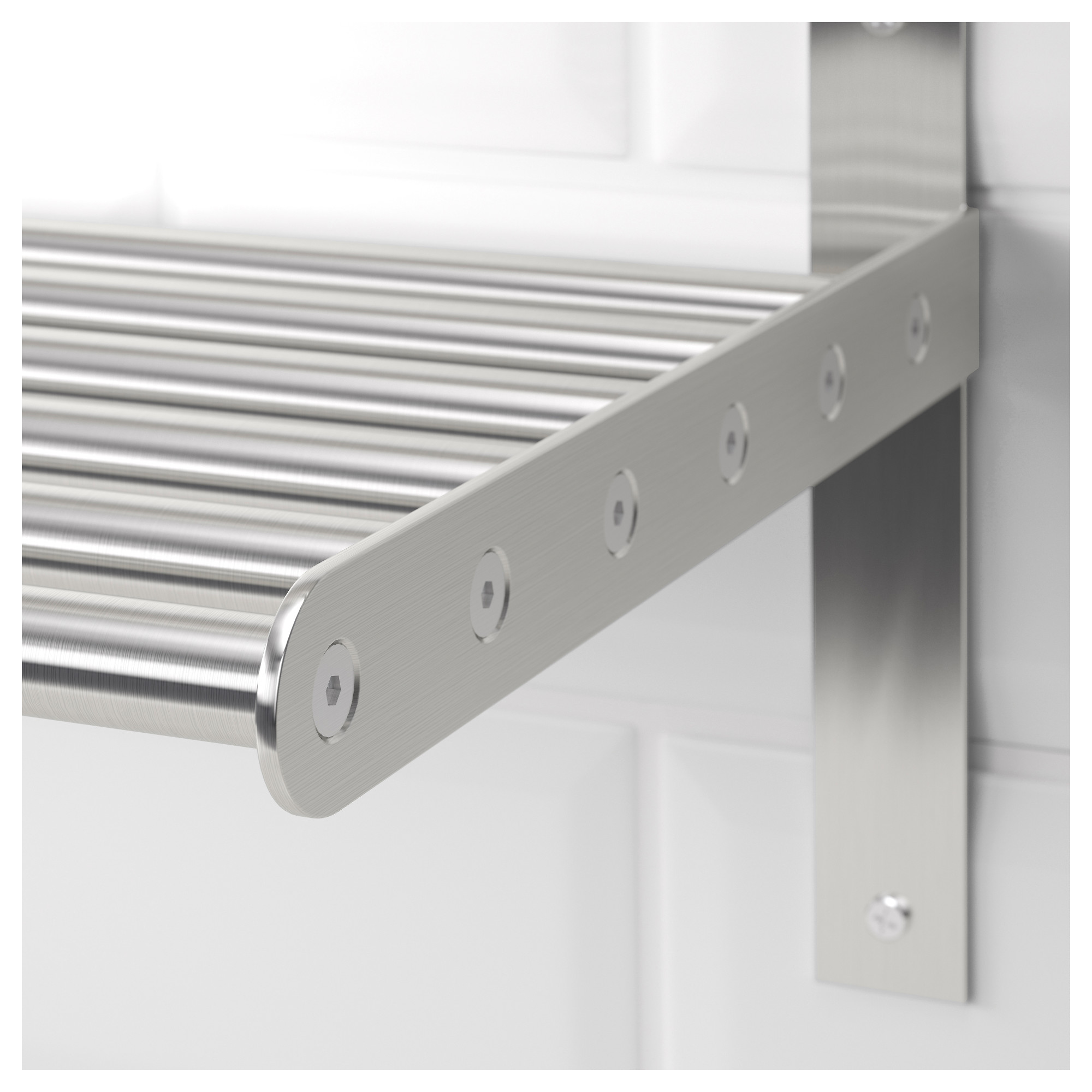 Ikea Grundtal Wall Shelf Stainless Steel