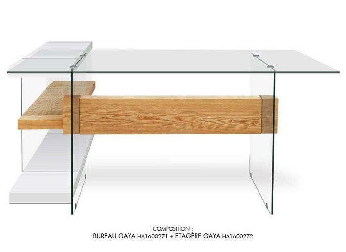 table basse bois metal bois denver meubles pas cher pinterest bureau en verre bureau et. Black Bedroom Furniture Sets. Home Design Ideas