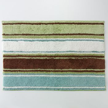 Peri Garden Pond Striped Bath Rug Kohl S But Discontinued Found Handtowels Tj Ma They Match Paint