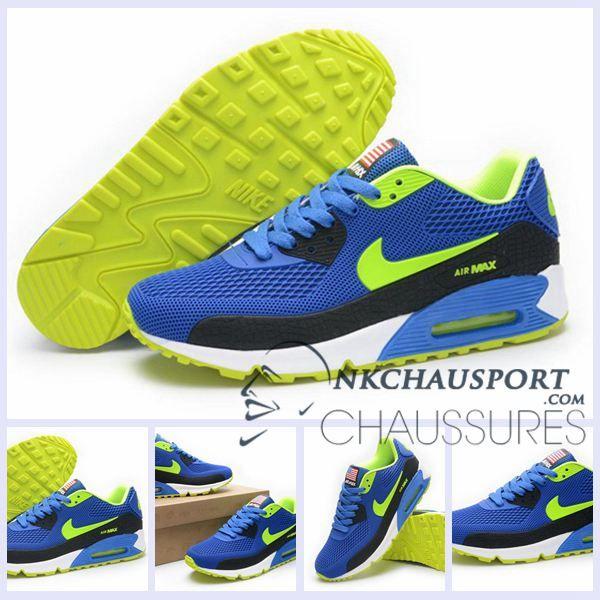 chaussure nike homme bleu