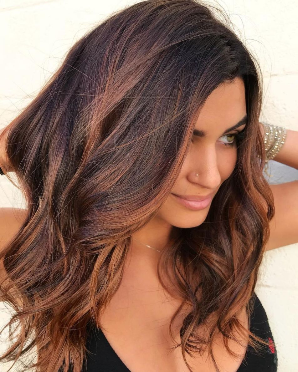 60 Hairstyles Featuring Dark Brown Hair With Highlights Brown Hair With Highlights Brown Blonde Hair Hair Highlights