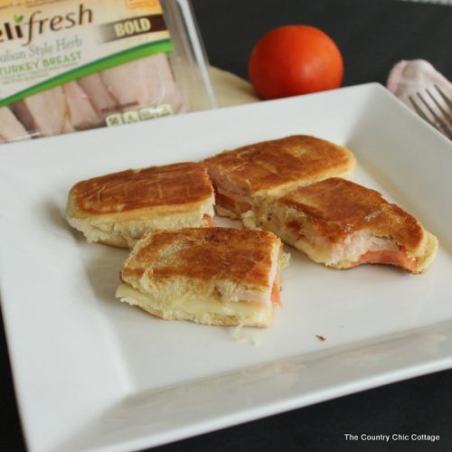 Italian Melt (use up hot dog buns!) #DeliFreshBOLD - The Country Chic Cottage