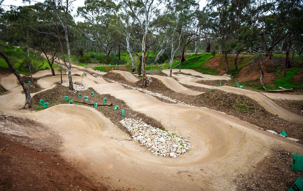 Shepherds Hill Recreation Park Adelaide Dirt Bike Track Motocross Tracks Bike Pump Track